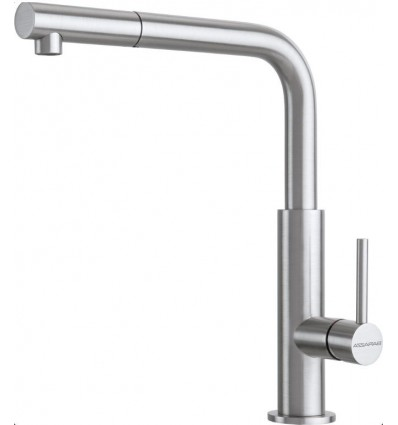 BARAZZA OFFICINA SHOWER, with swivel spout pull-out hand shower