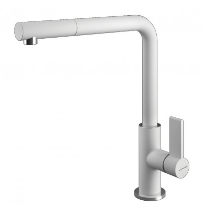 BARAZZA SOUL SHOWER Kitchen Taps with swivel spout pull-out hand shower 1RUBSODB