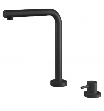 BARAZZA SOUL SHOWER Kitchen Taps with swivel spout pull-out hand shower 1RUBSORN