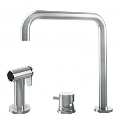 BARAZZA KIT TOP 1RUBMRKT, with swivel spout pull-out hand shower