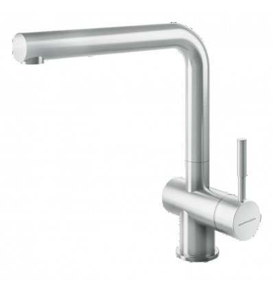 BARAZZA STEEL 1RUBMSTKitchen Taps with swivel spout pull-out hand shower