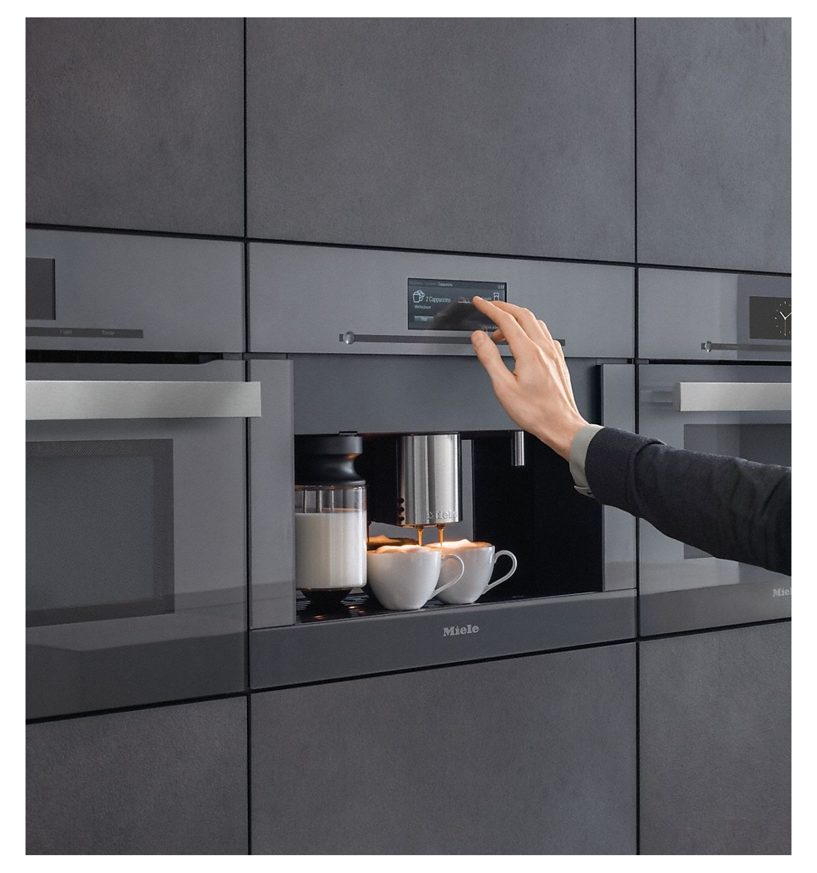 Miele Cva 6805 Built In Fully Automatic Coffee Machine