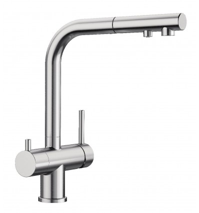 BLANCO FONTAS II 525230 Kitchen faucet with filtered water connection with pull-out hand schower