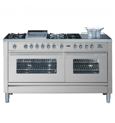ILVE P15 Pro Line Range Cooker with two ovens, Hi-Tech
