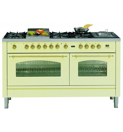 ILVE P15N Pro Line Range Cooker with two ovens, Nostalgie