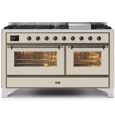 ILVE M15 MAJESTIC Cooking block with two ovens, Majestic