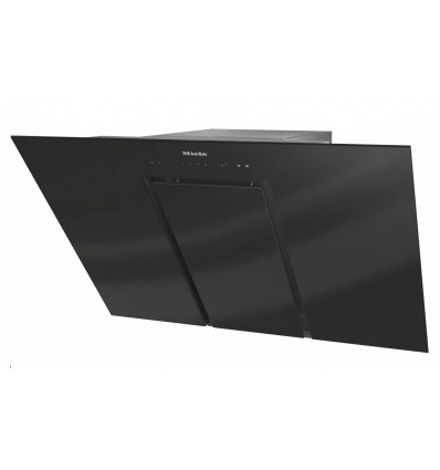 MIELE DA 6488 W Pure Black Chimney cooker hoods