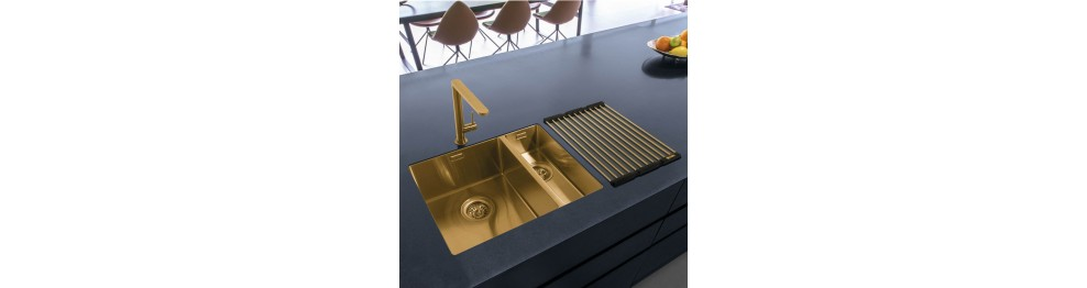 PVD COATED KITCHEN SINKS